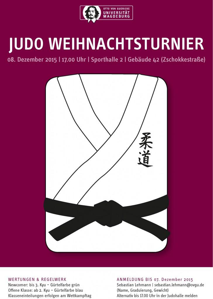 Judo Weihnachtsturnier